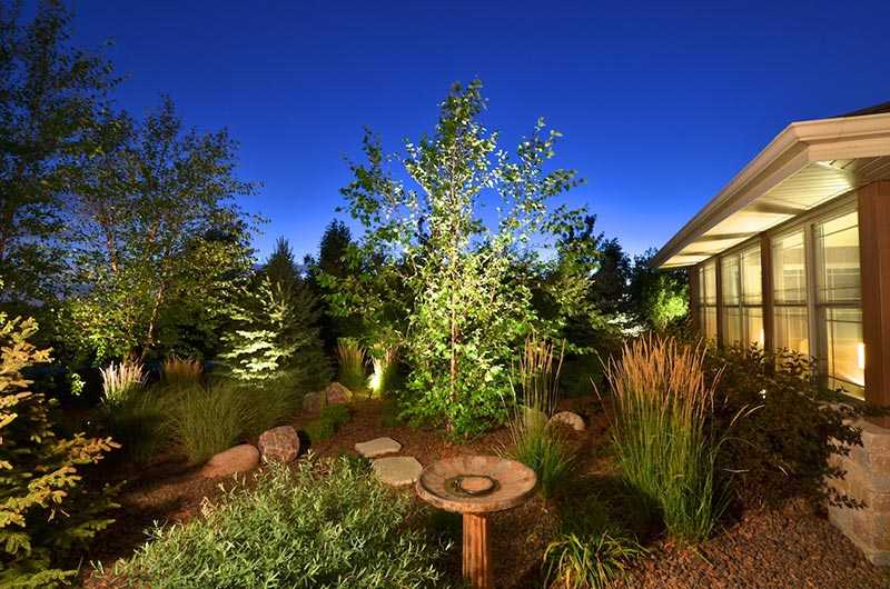 low voltage landscape lighting is a great way to add night time appeal to your property a great landscape lighting design also helps make your home more - Low Voltage Landscape Lights