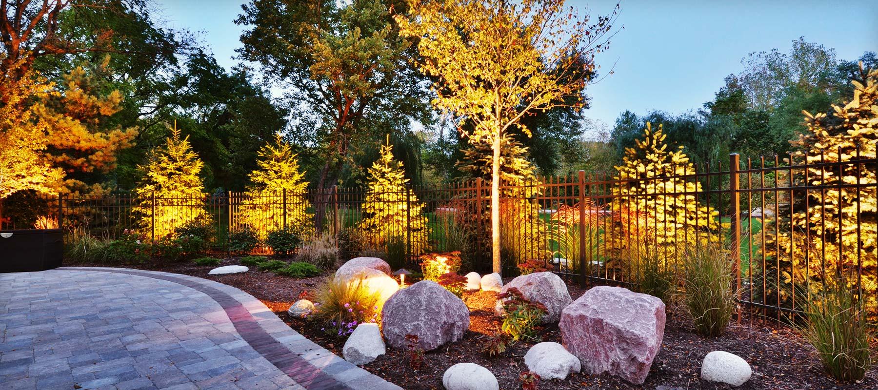 Professional landscape lighting lighting ideas for Landscape limited